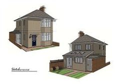 Semi Detached House extension ideas for semi detached houses - google search | ideeën