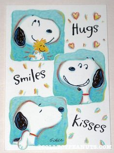 Squeeze me tight as I give you a hug! Smile at my goofy face. And feel the warmth of my kisses!