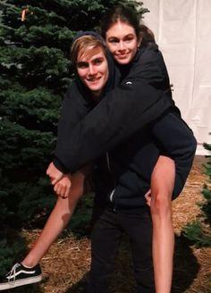 Kaia & Presley Gerber