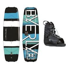 Byerly Monarch Wakeboard With Hyperlite Frequency Bindings