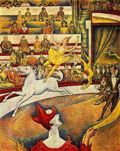 Georges Seurat  The Circus (1891)   Musée d'Orsay Paris