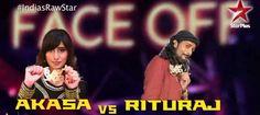Rituraj VS Akasa Faceoff India's Raw Star 16 Nov 2014