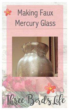 Making faux mercury