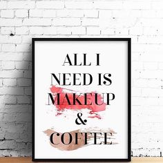💄☕️Priorities when you wake up late