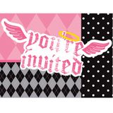 First Angel Party Invitations 8-Pack