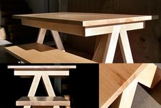 simple modern picnic table