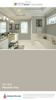 Home Paint Colors, Color Palettes, Android, Master Bath, Master Bathroom, Colour  Schemes, House Paint Colors, Design Seeds, Color Boards