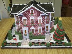 Mansion House | Mansion Gingerbread House by Nellie Metcalf.… | Flickr
