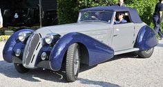 1934 Alfa Romeo 8C 2300 Figoni cabriolet