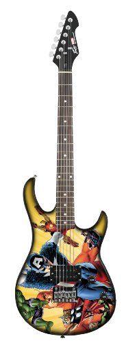 Peavey Rockmaster 03017670 Marvel Avengers Electric Guitar