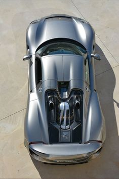#Porsche 918 #Spyder - Inspiring because it is part of a group of revolutionary #electric_sportscars.