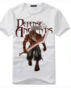 Yurnero camiseta DOTA herói homens brancos t-shirts-