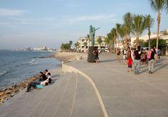 New Puerto Vallarta board walk .The Official Puerto Vallarta Travel Guide