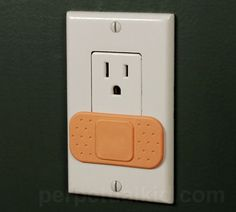 ouch outlet cover