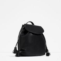 Image 2 of TASSEL BACKPACK from Zara
