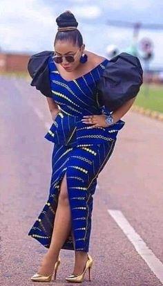 afrikanische kleider Gorgeous Ankara Gown Designs Of 2020 Long African Dresses, Latest African Fashion Dresses, African Print Dresses, African Print Fashion, Africa Fashion, African Attire, African Wear, Ankara Mode, Ankara Stil