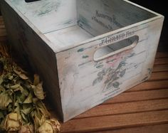 Shabby chic - chest, of course with transfer