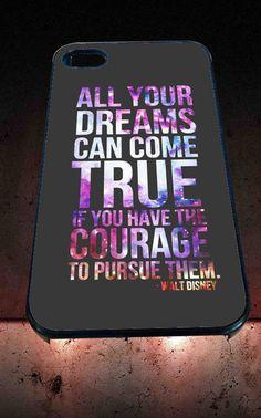 dream true disney Design for iPhone 4/4s, iPhone 5/5S/5C/6, Samsung S3/S4/S5 Unique Case *76* - PHONECASELOVE