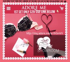 Adore Me Lingerie Subscription Service Discount | 757 Lifestyle #adoreme #influenster #lingerie #sexy #valentinesday