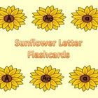Here is a set of sunflower letter cards that can be used at the beginning of the school year or anytime.  The set includes a page for each uppercas...