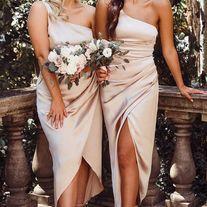 Burgundy Quinceanera Dresses, Bridesmaid Dresses Under 100, Beige Bridesmaids, Two Piece Wedding Dress, White Lace Wedding Dress, Bridal Party Dresses, Wedding Dresses, Bridal Gown, Prom Dresses