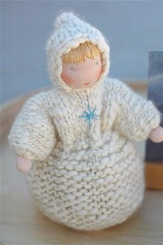 seasons round winter 09 :: winter sprite by waldorf mama, via Flickr