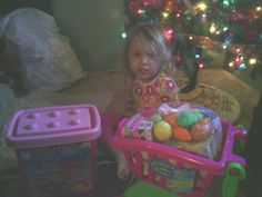 Girly lego blocks and groceries 4 her new kitchen set!