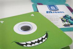 Invitaciones Monsters University