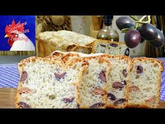 Olive bread with no kneading. Bread, Snacks, Cooking, Youtube, Food, Kitchen, Appetizers, Brot, Essen