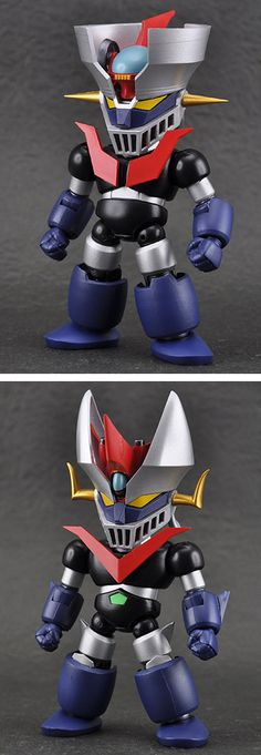 Fewture Mazinger Z and Great Mazinger Z SD