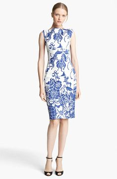 Emilio Pucci Print Dress available at #Nordstrom