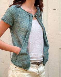 Ravelry | Cecily Glowik MacDonald - Goodale cardigan pattern for purchase...nice idea for pockets