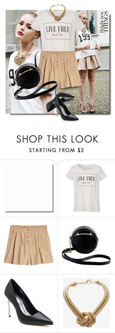 """""""Say What III: Statement T-Shirts"""" by breathing-style ❤ liked on Polyvore featuring Wildfox, American Vintage, Betsey Johnson, Jennifer Lopez and BCBGMAXAZRIA"""