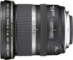 Shop Canon EF-S USM Ultra-Wide Zoom Lens Black at Best Buy. Find low everyday prices and buy online for delivery or in-store pick-up. Canon Eos, Canon Dslr, Canon Cameras, Best Landscape Lens, Best Wide Angle Lens, Full Frame, Photography Lessons, Camera Gear, Cool Landscapes