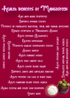Health benefits of #mangosteen, one of the amazing ingredients in Trifusion Max. To order go to http://unitedstates.nhtglobal.com/blog/products/trifusion-max/