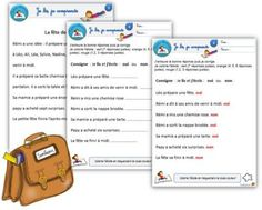 Fiches de lecture silencieuses CP - Le petit cartable de Sanleane Reading Lessons, Teaching Reading, Teaching Tools, French Teacher, Teaching French, Educational Assistant, French Education, Core French, French Expressions