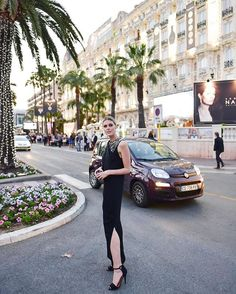 About last night in Cannes... Read everything about it on my blogwww.fashionata.com ✨ wearing @bymalenebirger dress and @boucheron jewellery #cannes