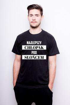 Koszulka Męska Najlepszy Chłopak Pod Słońcem w TailorMade24 na DaWanda.com