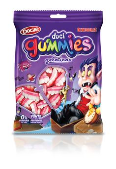 Doci Gummies on Packaging of the World - Creative Package Design Gallery