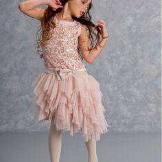 Kate Mack Pink Slipper Dress