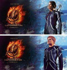 Katniss and Peeta - The Hunger Games Catching Fire AHHHH