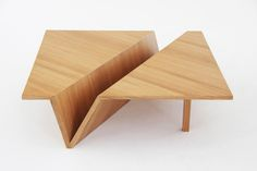 "Table ""ORIGAMI"" by Svyatoslav Boyarincev, via Behance"