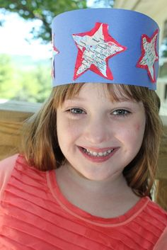 Make This Easy Statue Of Liberty Crown Diy Crafts