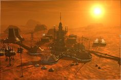Singularity and Futurism: Want to Start a Mars Colony?