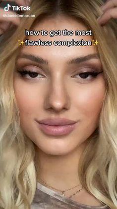 Contour Makeup, Skin Makeup, Beauty Makeup, Contouring, How To Makeup, Glo Makeup, Glamour Makeup, Makeup Brushes, Makeup Looks Tutorial