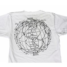 Trade Winds: Men's/Unisex Fine Jersey Short Sleeve T-Shirt in Washed White $32