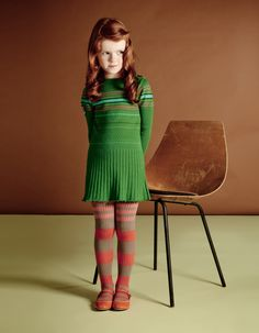 Kenzo - this little sweater dress reminds me of Thelma from Scooby Do. Just needs to be in orange instead of green.