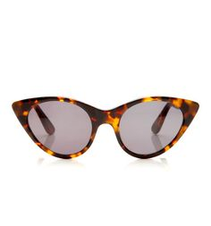 bb9a051596 Tortoise Cat Eye Sunglasses by Opening Ceremony - so chic. Blue Sunglasses