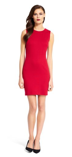 Simple and chic, this sheath dress is perfect for year-round wear, and is easily…