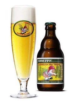 Houblon Chouffe dobbelen IPA Tripel, 9%, 4/10 beer for hopheads, very bitter not for beginning beer drinkers.
